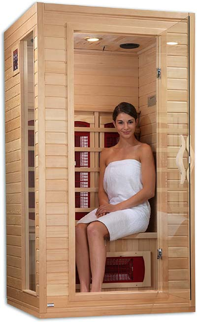 Dynamic 1-2-person Far Infrared Sauna for weight Loss