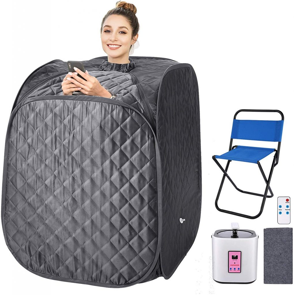 Portable Steam Sauna, 2L Personal Therapeutic Sauna