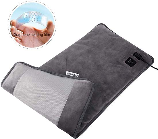 Best Far Infrared Electric Heating Pad for Back Pain