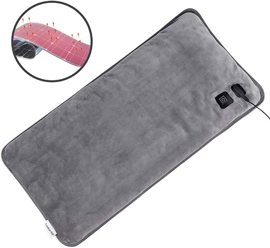 Mieuxbuck Far Infrared Heating Pad for Pain Relief
