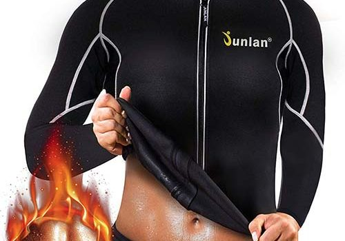 Hot Sweat Weight Loss Sauna shirt for womens