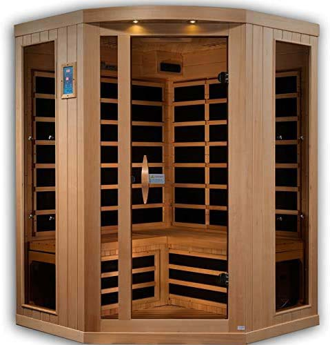 3 Person Corner Reserve Edition Near Zero EMF Infrared Sauna GDI-8035-01