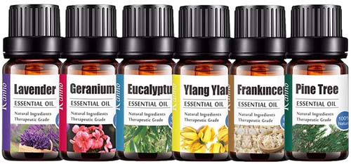 100% Pure Essential Oil for Aromatherapy & Skin Care