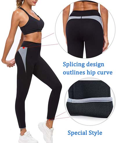 SEXYWG Women Sauna Pants to loss weight