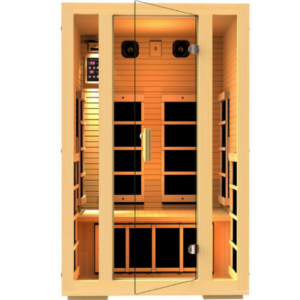 Picture of JNH Lifestyles MG217HB Joyous 2 Person Far Infrared Sauna.