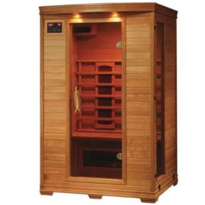 Picture of Radiant Saunas BSA2406 2-Person Deluxe Ceramic Infrared Sauna